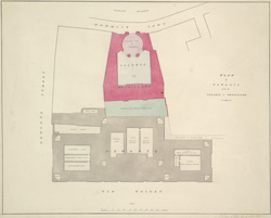 PLAN of NEWGATE and the COLLEGE OF PHYSICIANS